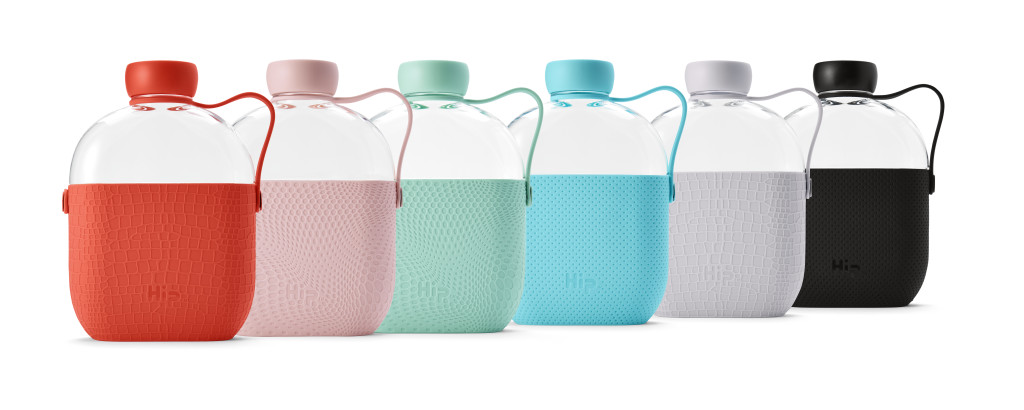 Above: Hip water bottles from Auteur.