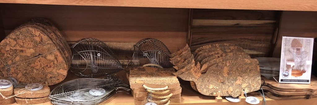 Above: Part of a shelf of Ocean products at Barbours of Dumfries.
