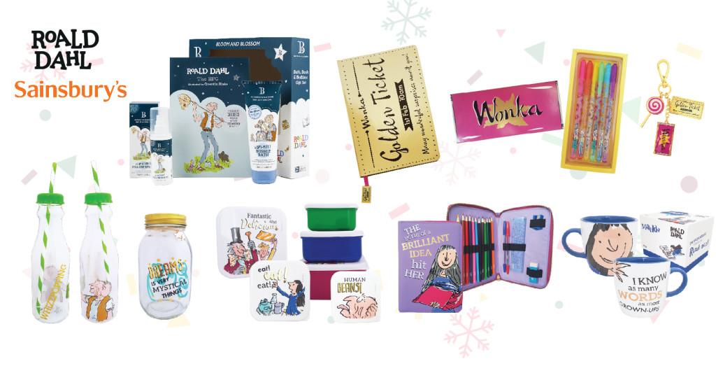 Sainsbury's Roald Dahl exclusives   Housewares News