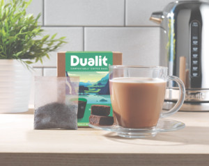 Above: Compostable options from Dualit.