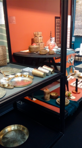 Above: A view of India's Partner Country presentation at Ambiente.