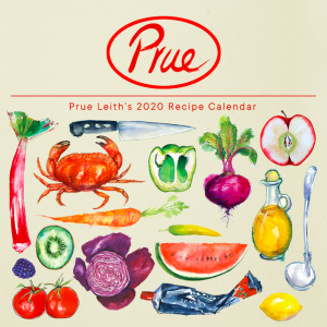 Above: Portico Designs has launched two calendars and two diaries in its Prue Leith licensed collection. They include recipes and illustrations from Prue's latest cookery book.
