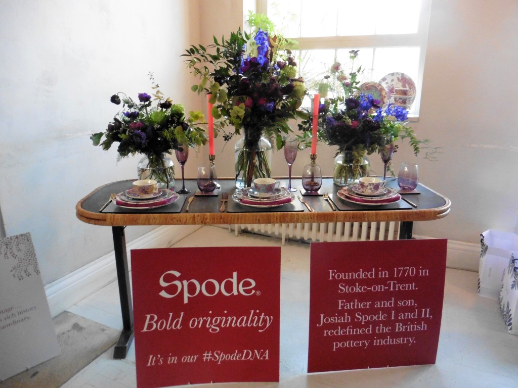 Above: Spode has launched a brand-led campaign #SpodeDNA.