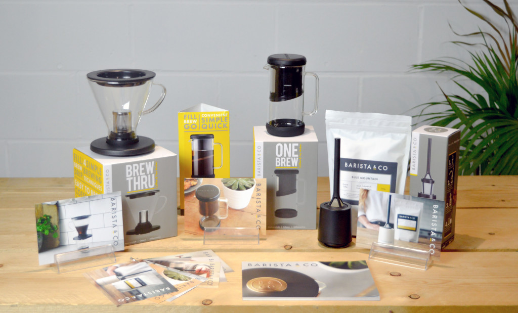 Above: The tasting kit that is available to Barista & Co stockists.