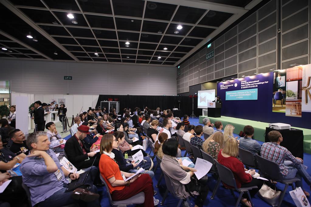 Above: Presentations at the Hong Kong Houseware Fair.