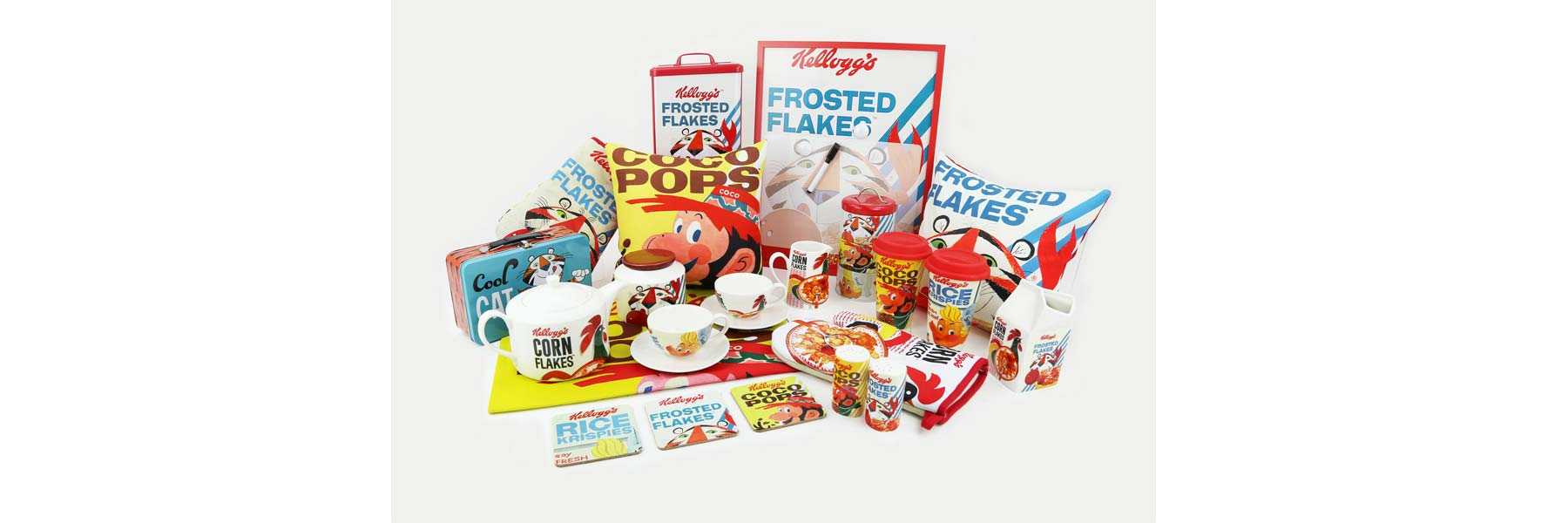 Above: An example of a lifestyle brand – Kellogg's Vintage homewares by Kimm & Miller.