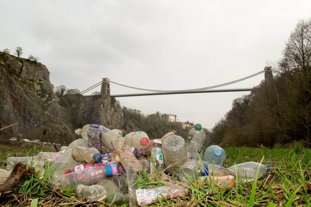 Above: The Refill campaign aims to reduce the use of single-use plastic bottles.