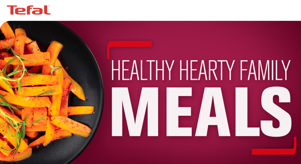 Above: 'Healthy Hearty Family Meals' are a focus for autumn/winter.