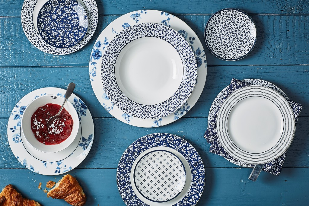 Above: Laura Ashely Heritage Blueprint Collectible range – now from Tradestock.