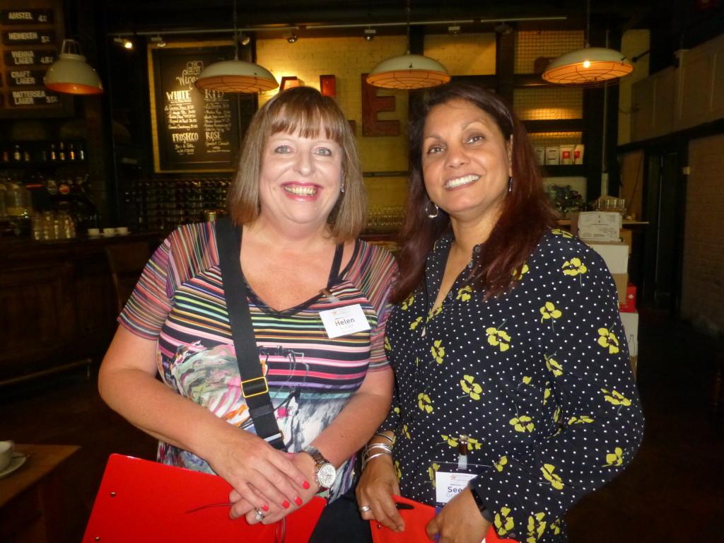 Above: Helen Miller of Fenwick Group with Seema Grantham of BHETA.