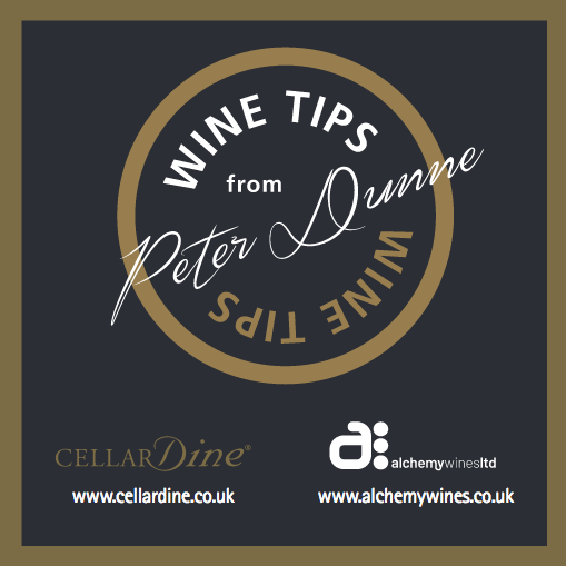 Above: The new Wine Tips leaflet.