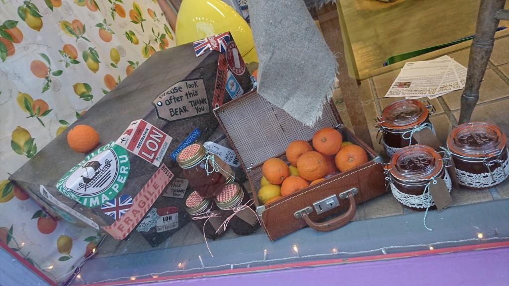 Above: Marmalade Day paid homage to Paddington Bear.