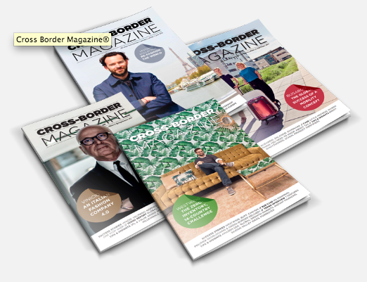 Above: Salesupply publishes Cross Border magazine, providing insights into the world of global e-commerce.