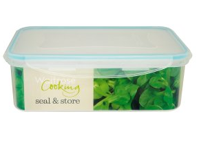 Above: One of Waitrose' range of food storage containers.