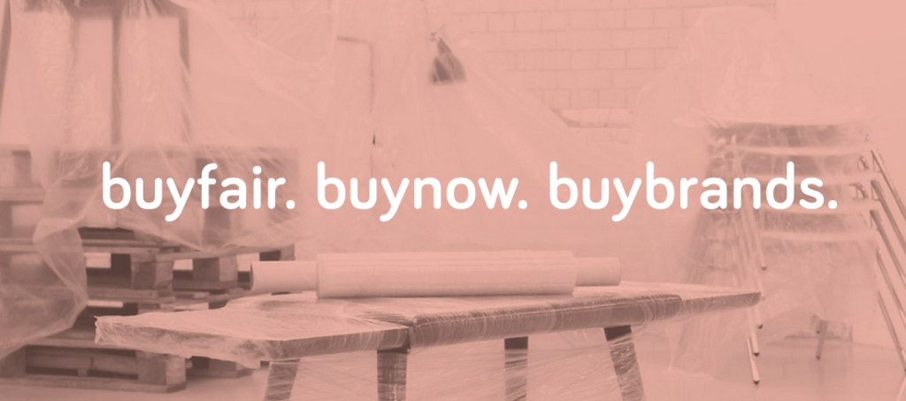 Above: The buyfair global site is providing a solution to overstock.