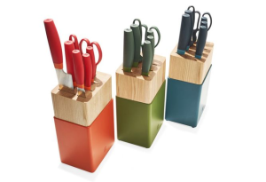 Above: As featured on Oprah's list: Zwilling Now S Knife Block Set.