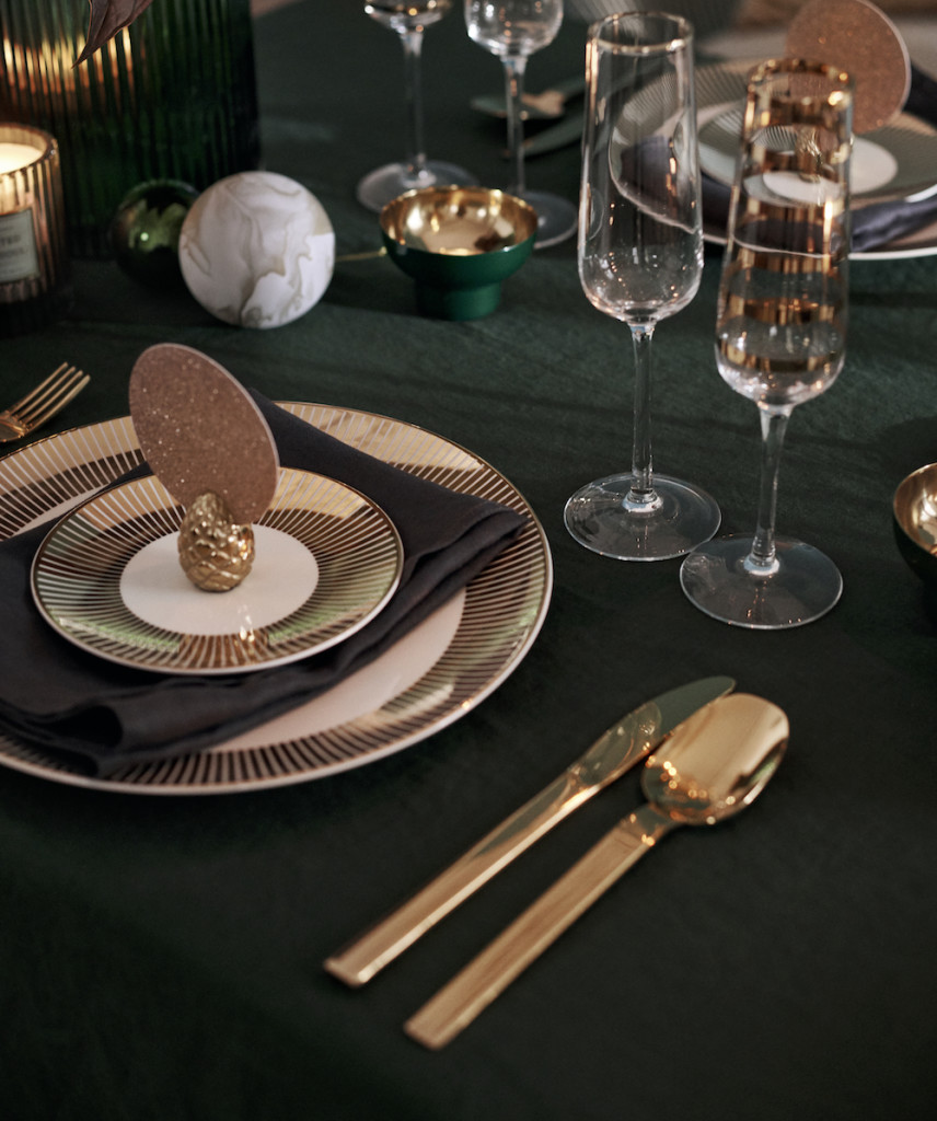 Above: Some of the festive season's tableware offering from H&M Home.
