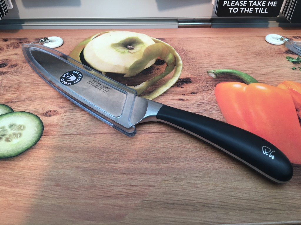 Above: Part of Robert Welch Design's new knives display concept – launched at Exclusively.