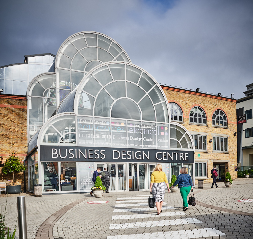 Above: The Business Design Centre in Islington – home to Exclusively.