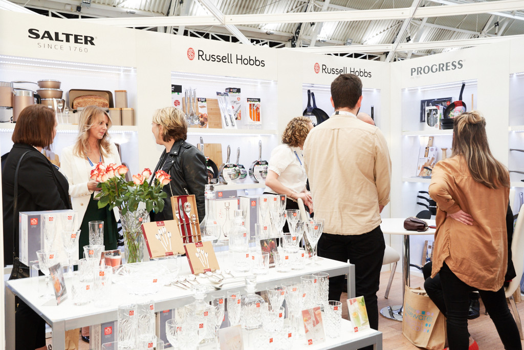 Above: Ultimate Products are among the major suppliers that exhibited at the last Exclusively Housewares.