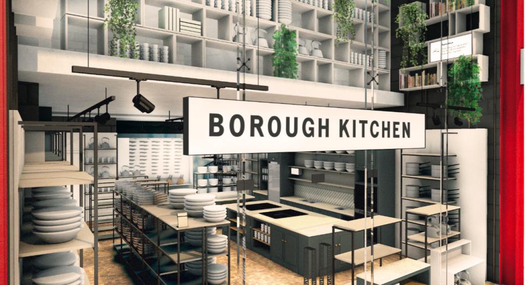 Above: Islington is a new venue for Borough Kitchen.