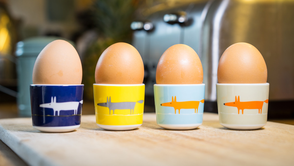 Above: Scion eggcups by MAKE International.