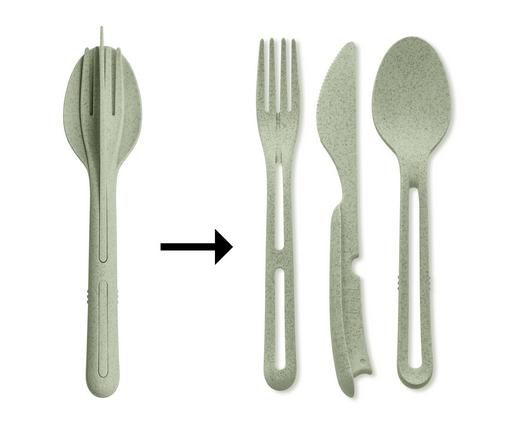 Above: Klikk travel cutlery set by Koziol (from Haus in the UK).