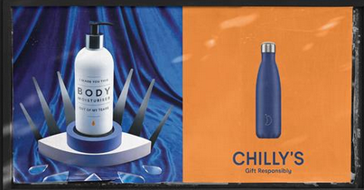 Above: Part of Chilly's Christmas ad 'Gift responsibly' campaign (created by Uncommon Creative Studio), which incorporated tv, print and social media.