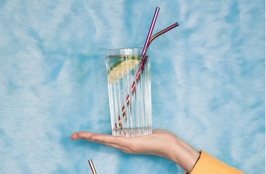 Above: Colourful straws from Dearest Fannie.