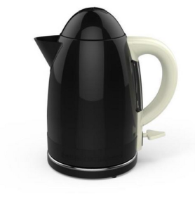 """Above: The Funky Appliance Kettle – one of the young company's range of products, which Jon Collings describes as """"fresh and standout."""""""