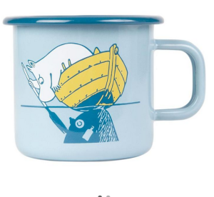 Above: Moonintroll enamel mug by Murrla – donations from each sale will help save the Baltic.