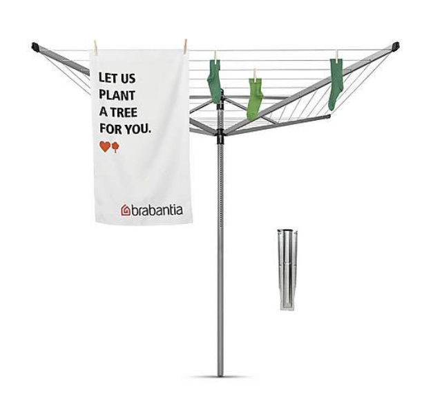 Above: Brabantia products are available from Dunelm's selection of home delivery products aimed to help consumers make the best of their time at home.