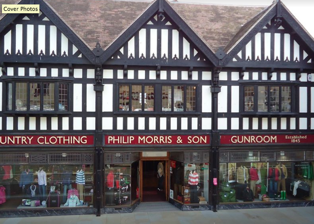 Above: Philip Morris & Son is noticing a large reduction in footfall in Hereford as consumers react to coronavirus concerns.