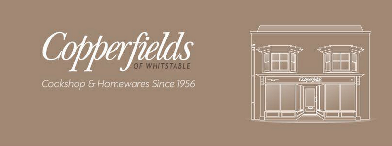 Above: Copperfields' logo.
