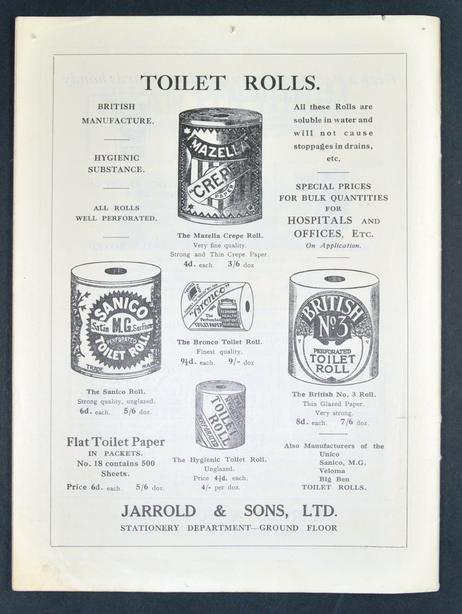 Above: Jarrold's historical ad in full.