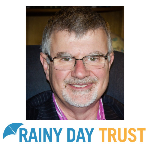 Above: The Rainy Day Trust's ceo Bryan Clover.