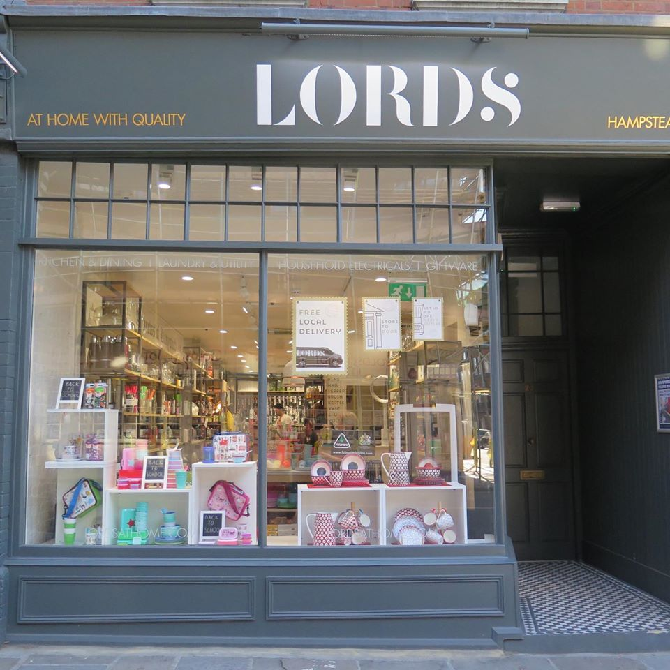 Above: Lords' Hampstead store.