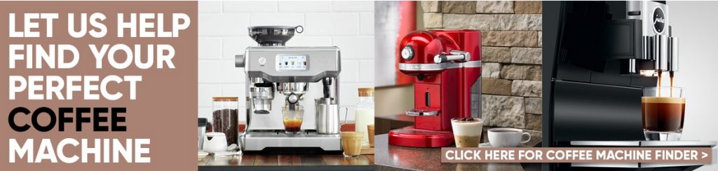 Above: Coffee machines, as featured on Harts of Stur's website.