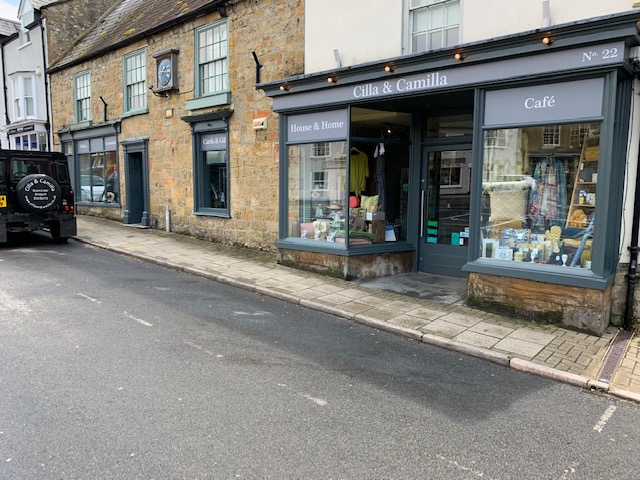 Above: The boutique department store in picturesque Beauminster, which stocks housewares and gifts.