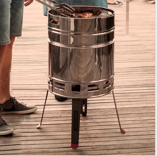Above: Harts of Stur promoted National BBQ week at the end of May (image of a Tramontina BBQ).