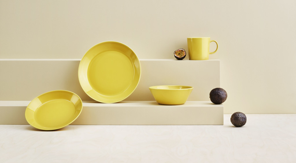 Above: Iittala's Teema Honey Collection is among products highlighted by Scarlet Opus for the 'Soul Searching' trend.