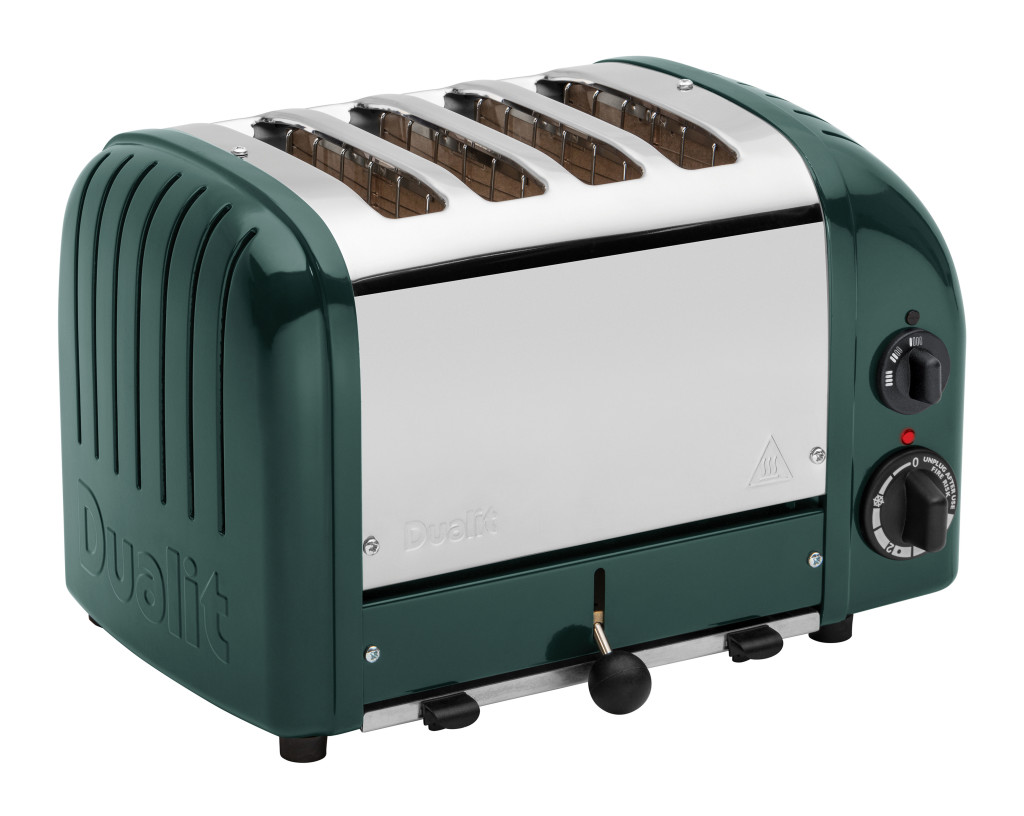 Above: Dualit's Evergreen coloured toaster has been picked by Scarlet Opus to illustrate the Earth Age trend.