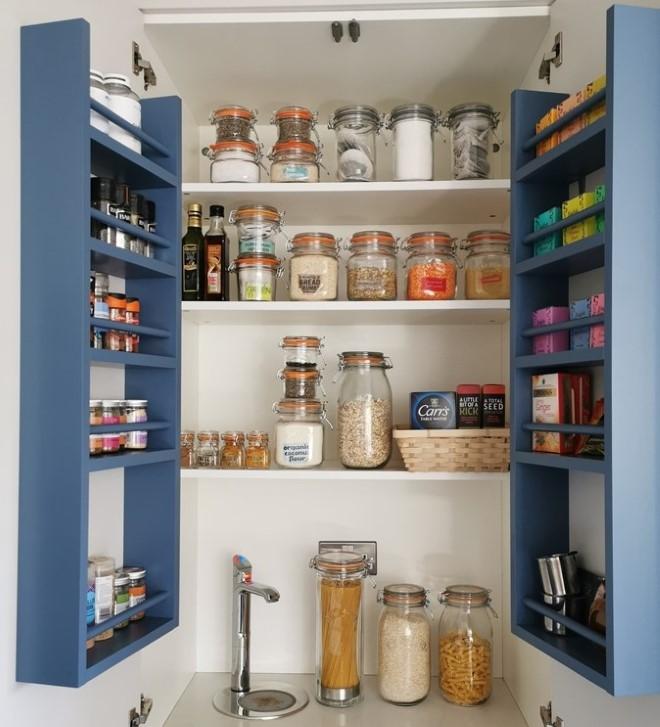 Above: Kilner Jars have been a lockdown bestseller as households prioritise getting organised.