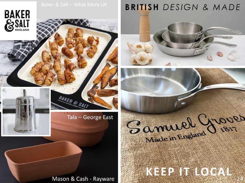 Above: More Eco-living products from Exclusively Digital.
