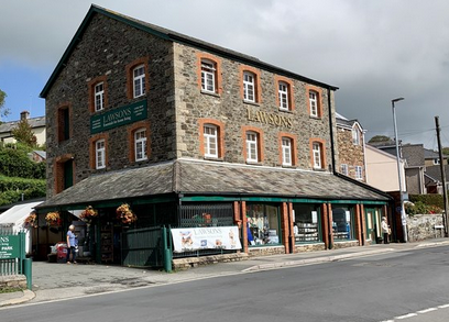 Above: Community focus: Lawsons' store in Tavistock was busy supplying customers with deliveries during lockdown