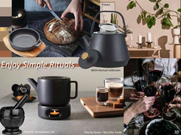 Above: Enjoying simple rituals – image from Scarlet Opus.
