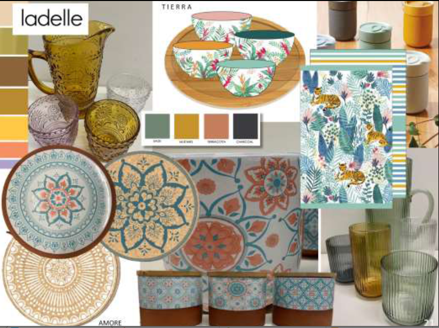 Above: Products by Ladelle were among those highlighted by Scarlet Opus in the Exclusively Digital webinar discussing the 'Soul Searching' trend.