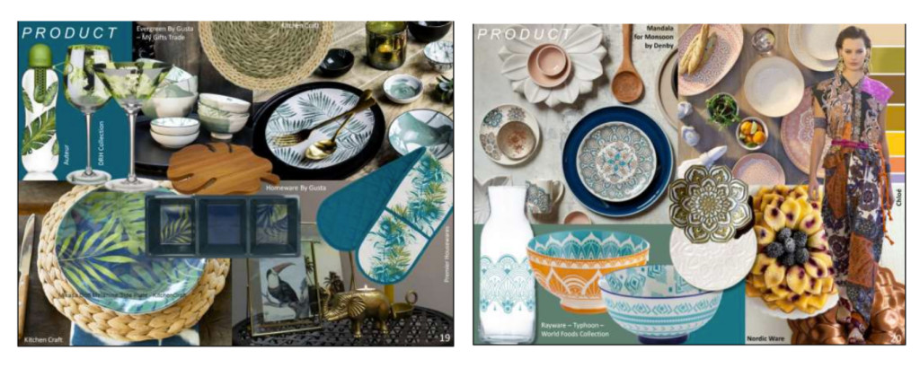 Above: Products that represent the Soul Searching trend – image from Scarlet Opus.