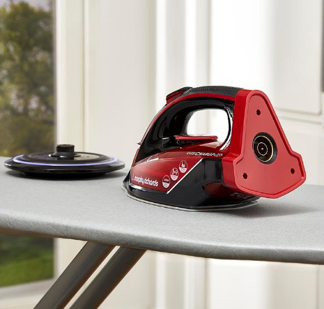 Above: Free and easy ironing from Morphy Richards.