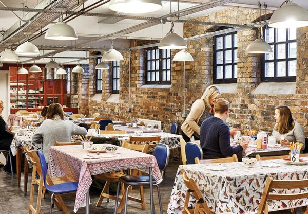 Above: Emma Bridgewater's Decorating Studio reopens at the end of September.
